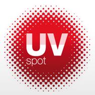 UV-Spot (digitale) Drukwerkveredeling
