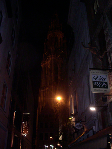 Buitenlandse trip Antwerpen