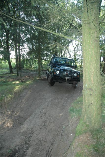 Selfcaredag Landrover experience